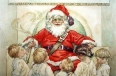 Children Visiting Santa