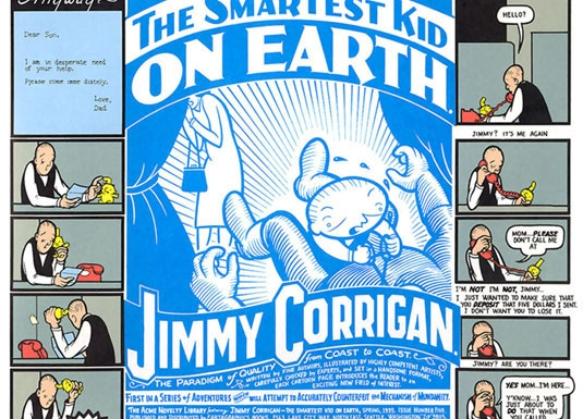 Page from Jimmy Corrigan: The Smartest Kid on Earth