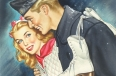 "Cover art for ""All-Story Love,"" December 1945"
