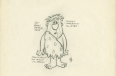 Concept drawing of Fred Flintstone