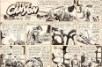 """Steve Canyon"" comic strip"