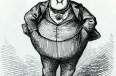 "Cartoon of ""Boss"" Tweed from ""Harper's Weekly,"" October 21, 1871"