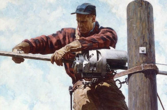 """The Lineman"" [detail]"