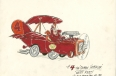 "Concept art for the ""Wacky Races"" television series"