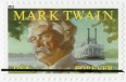 Mark Twain postage stamp