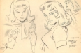"Model sheet of Pepper Potts for ""The Marvel Super Heroes"" television cartoon"