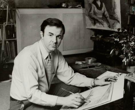 Everett Raymond Kinstler Illustration History