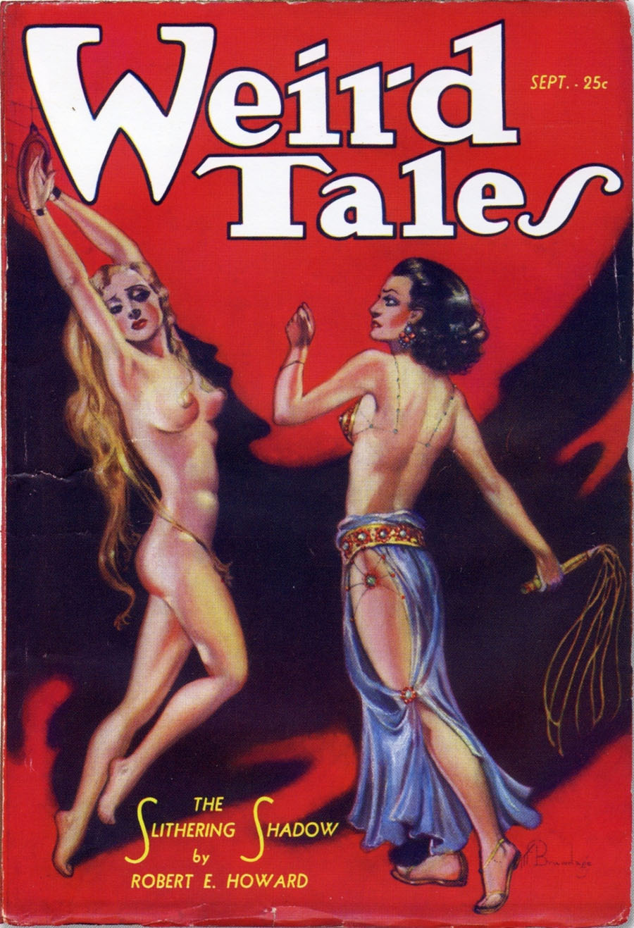 "Cover of ""Weird Tales,"" July 1933"