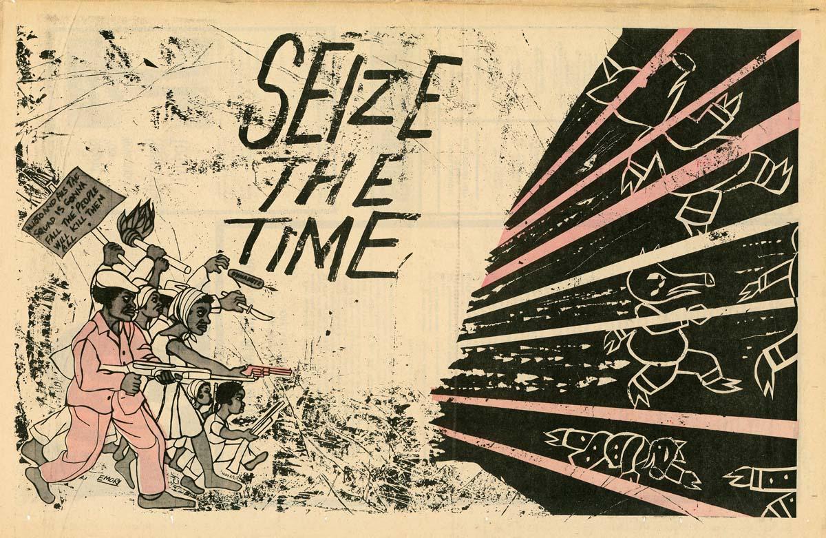 "Illustration for ""The Black Panther,"" September 27, 1969"