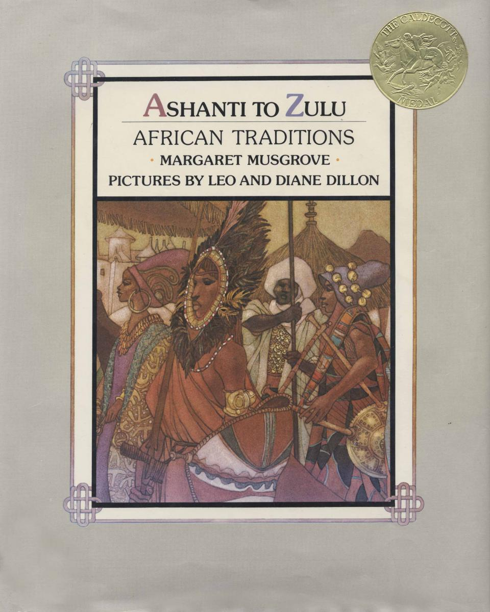 """Cover of """"Ashanti to Zulu: African Traditions"""""""