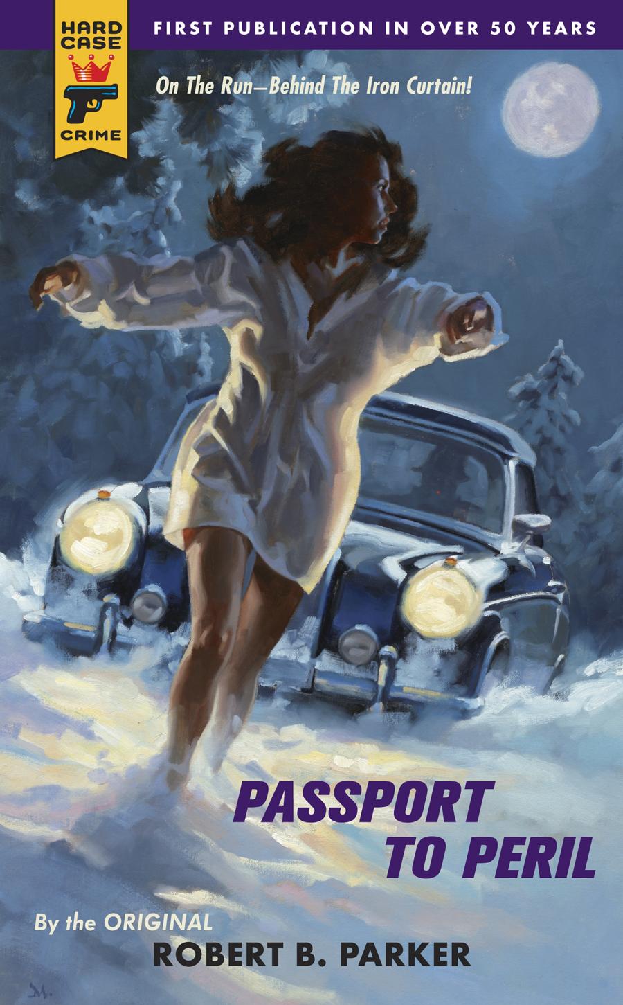 """Passport to Peril"" book cover"