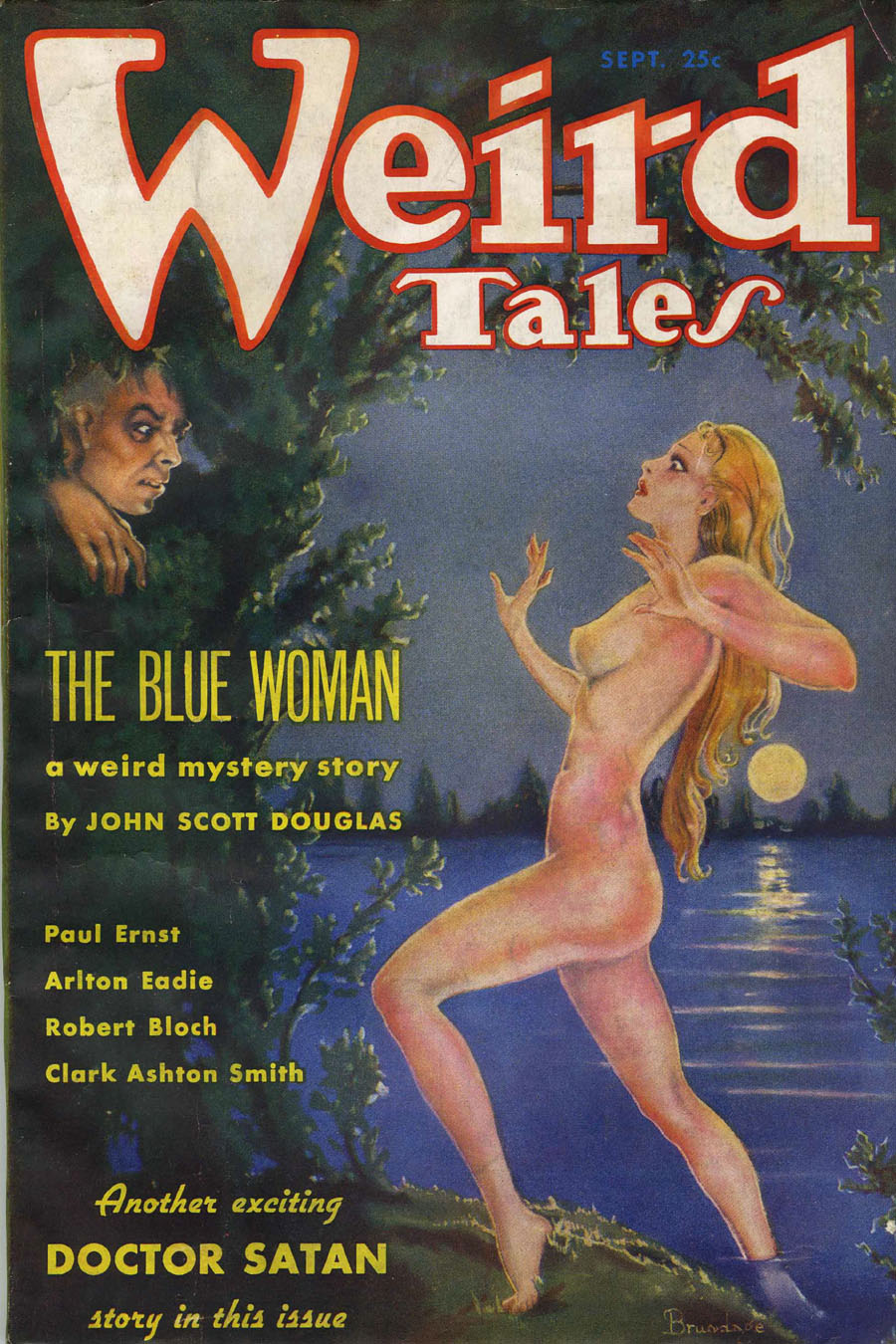 "Cover of ""Weird Tales,"" September 1935"