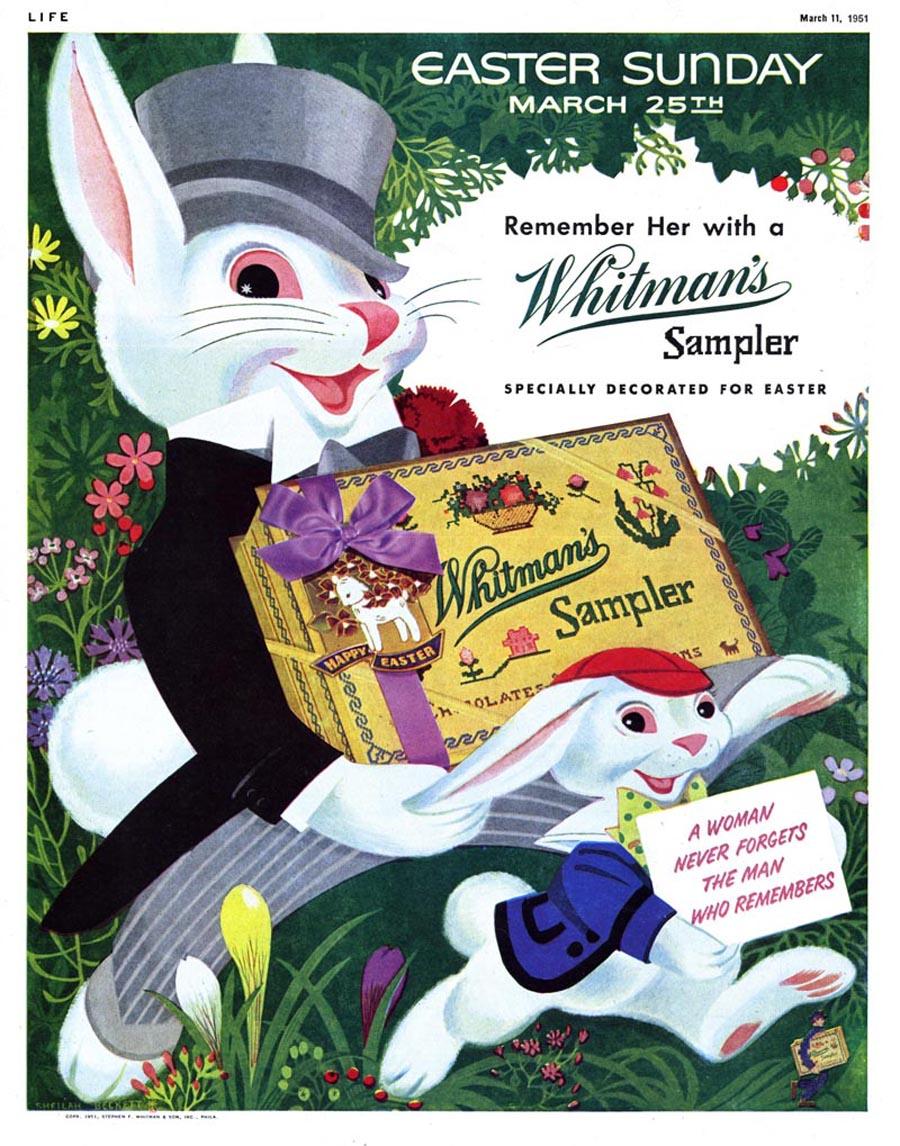 Whitman's Sampler advertisement