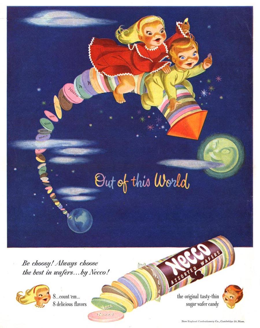 Necco Wafers advertisement