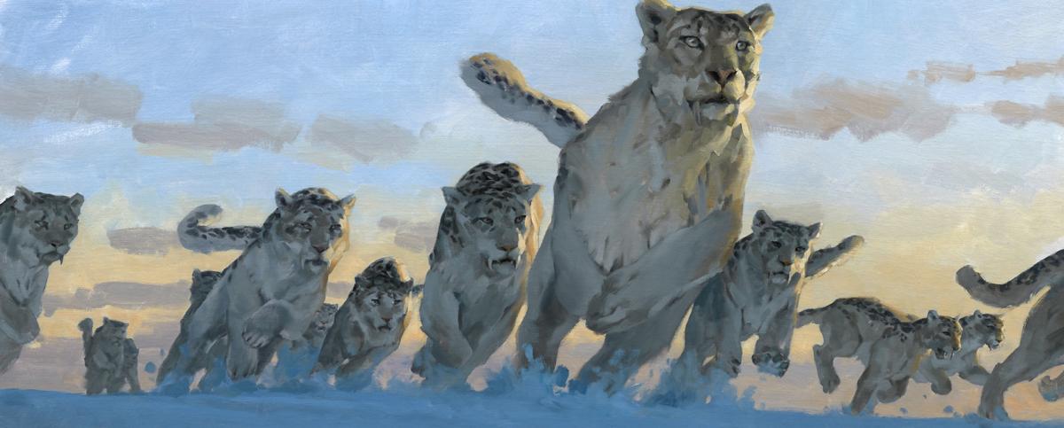 Ice Leopards Ambush