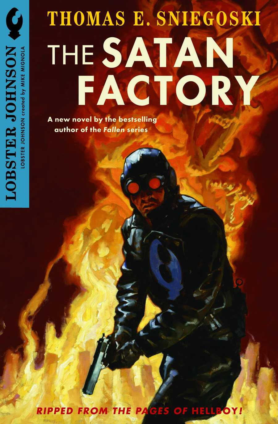 """The Satan Factory"" book cover"