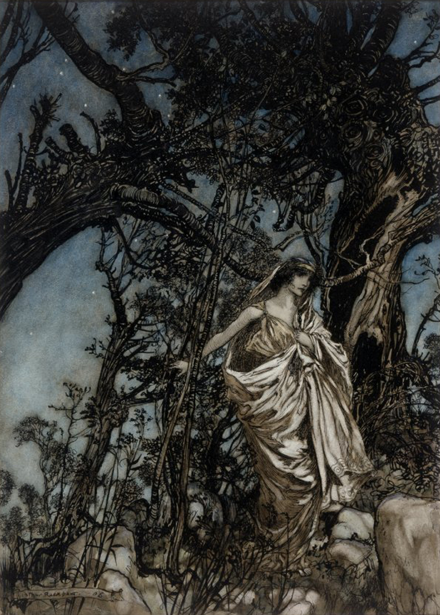 Arthur Rackham - Illustration History