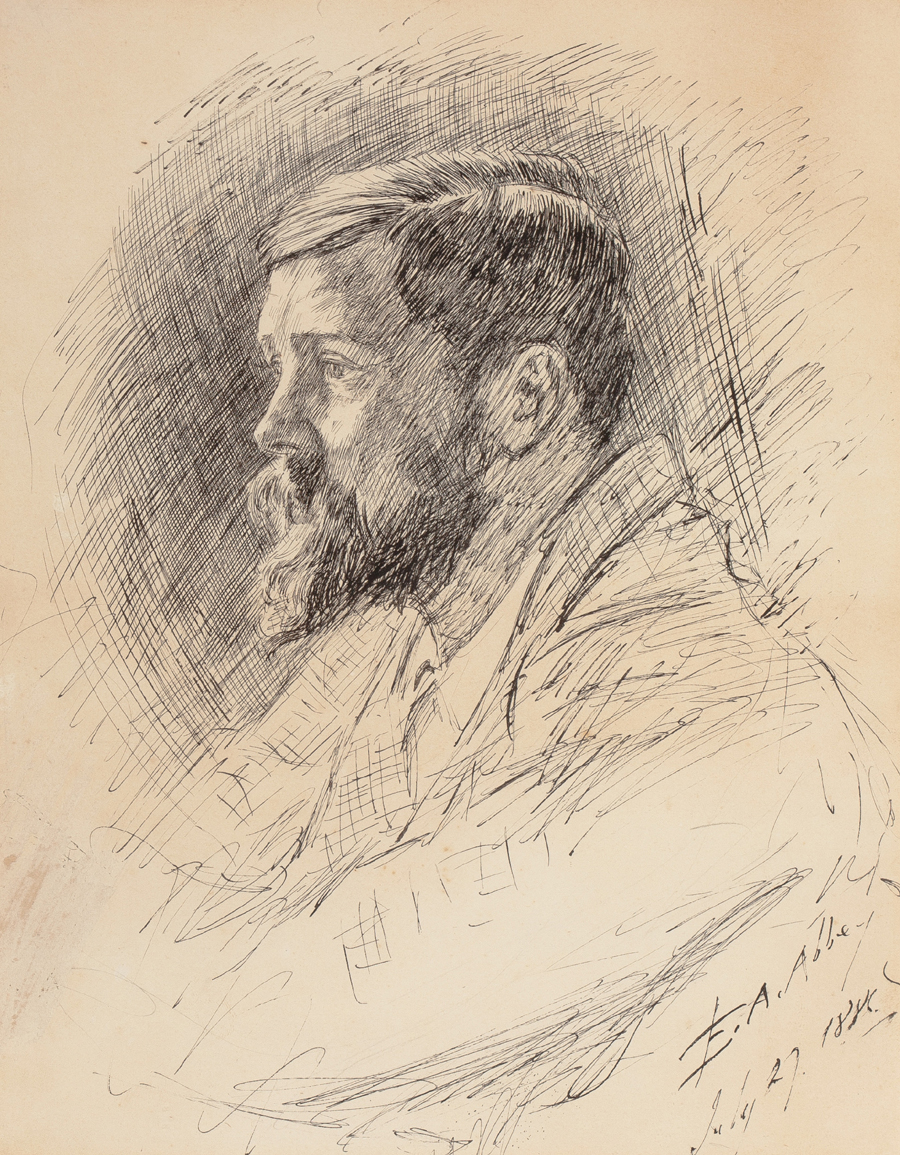 Portrait of Alfred Parsons, R.A.
