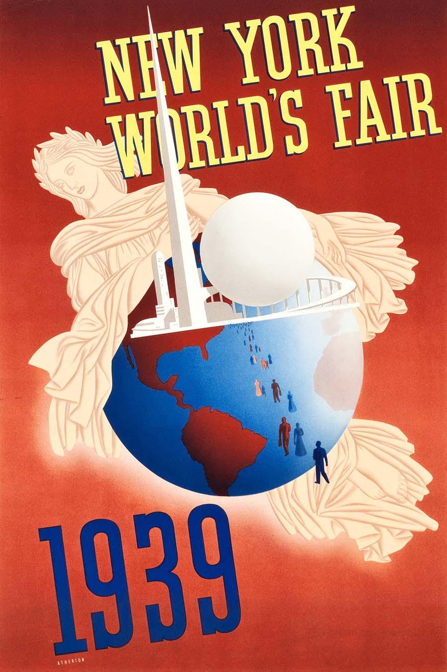 New York World's Fair Travel Poster