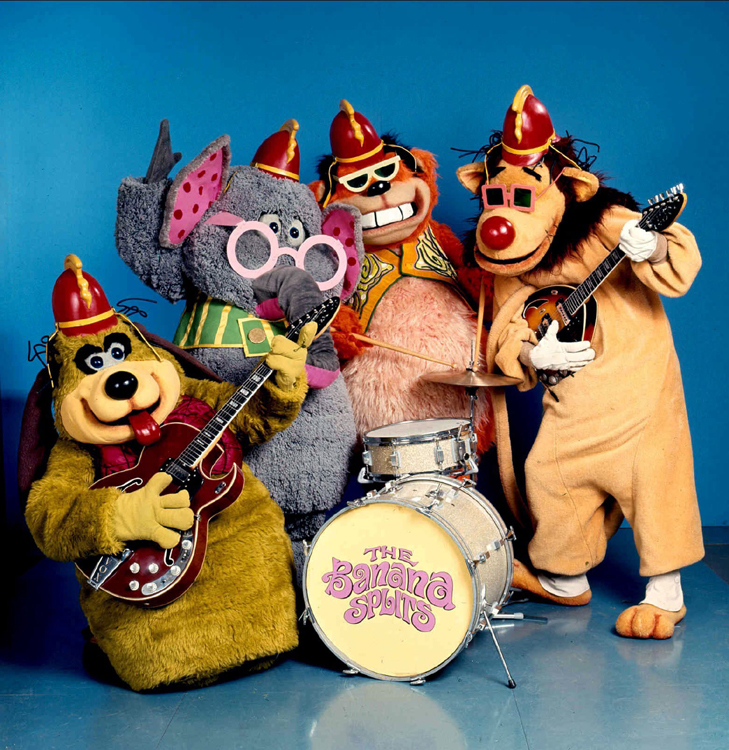 29 Promotional Photograph For The Banana Splits Adventure Hour 1968