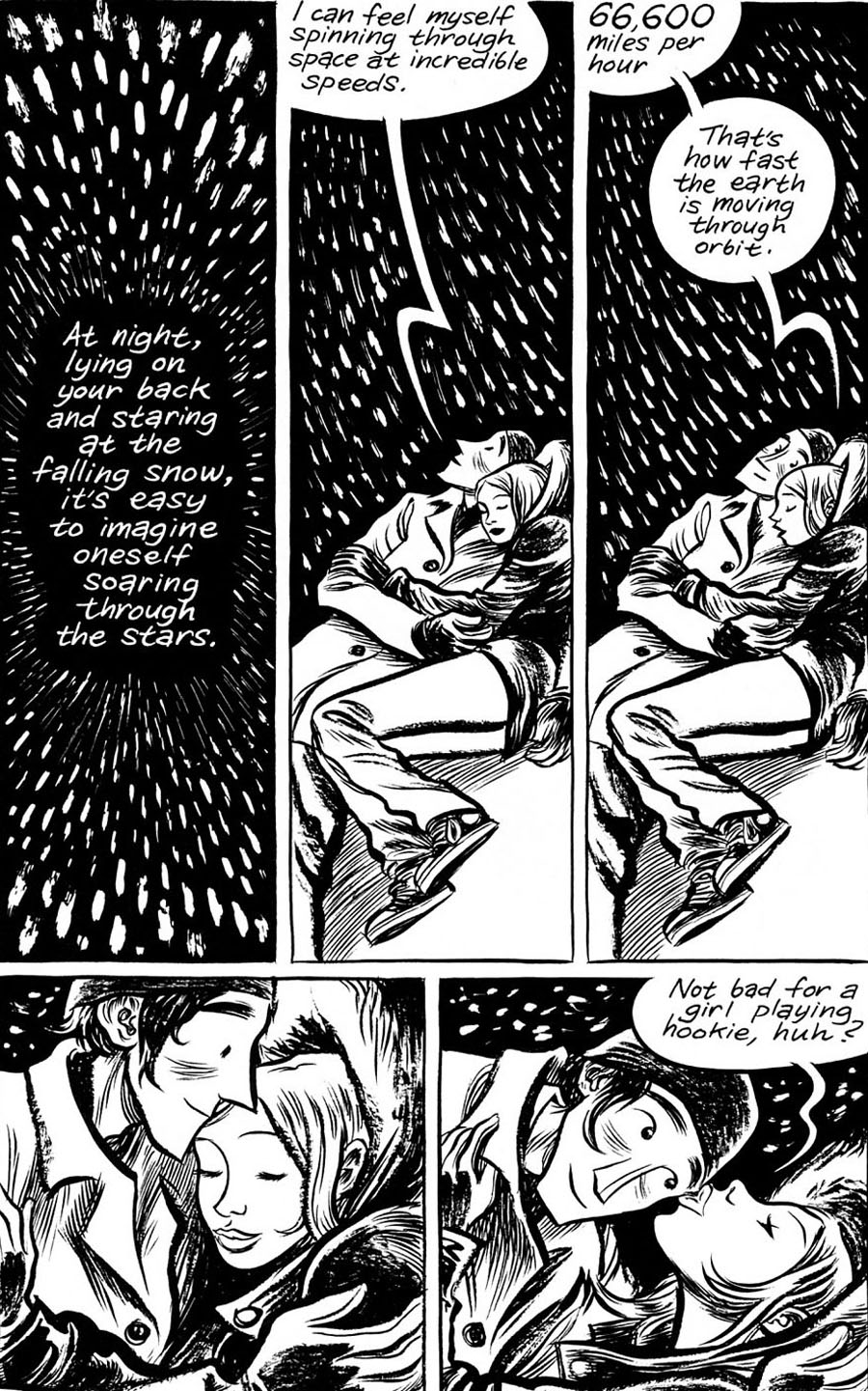 """Page from """"Blankets"""""""