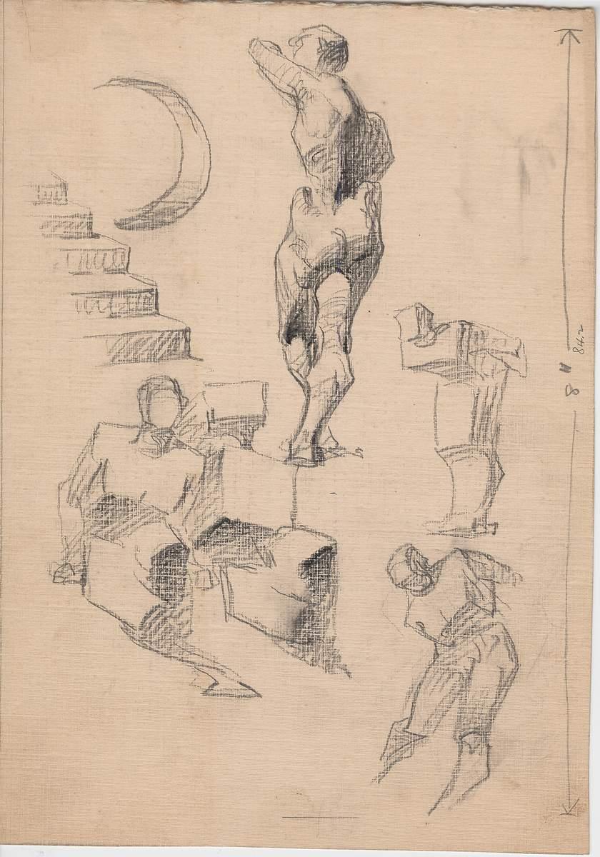 Human Figure - Light and Shade