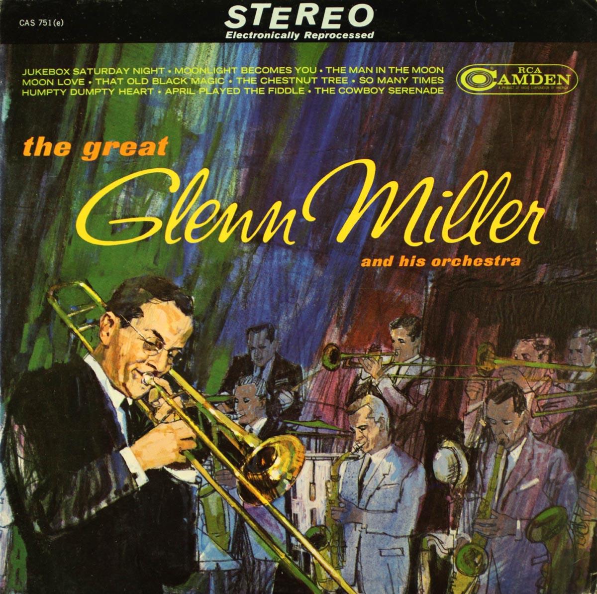 Cover of Glenn Miller LP