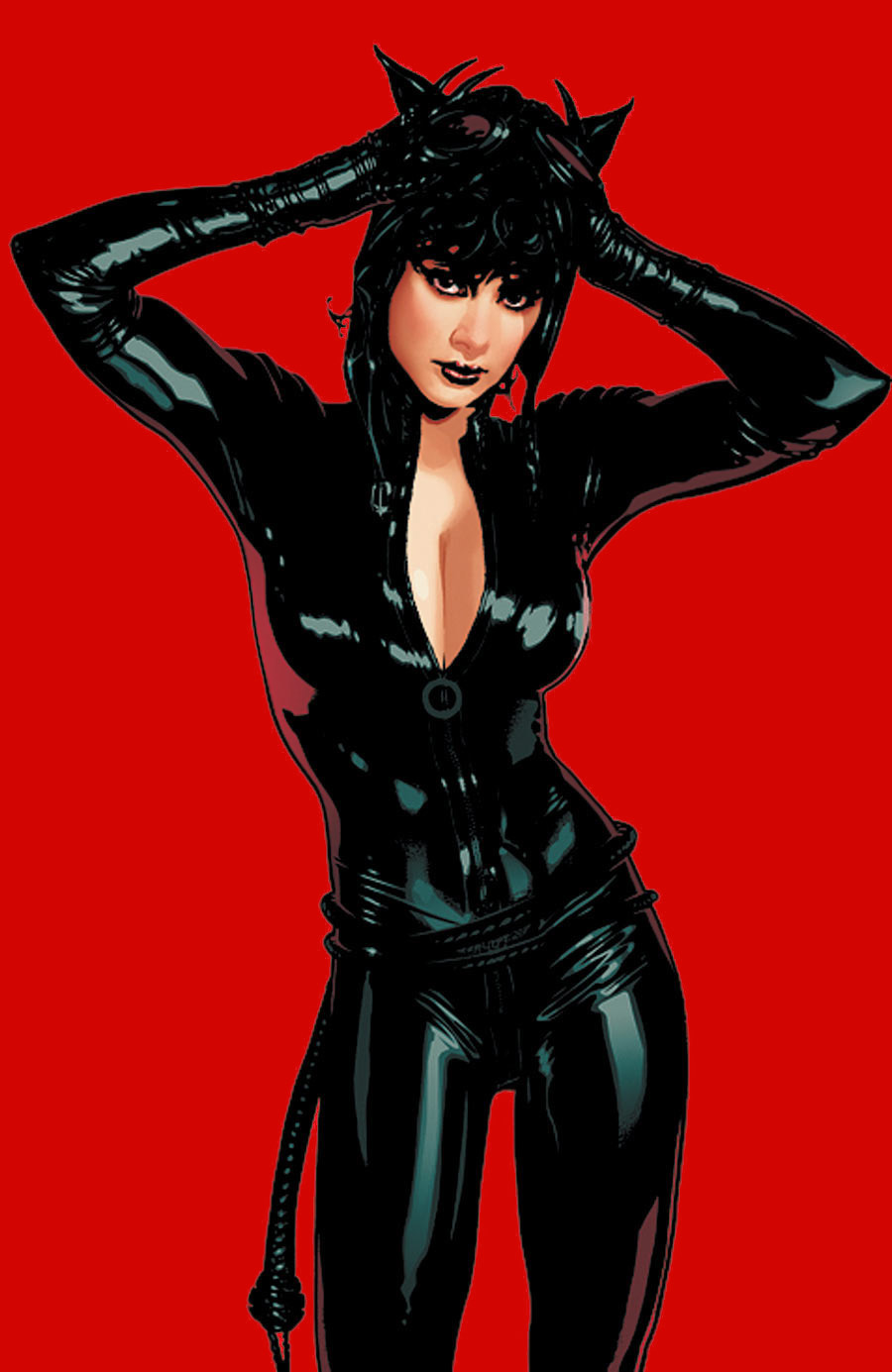 "Cover art for ""Catwoman,"" Vol. 3 #70, October 2007"