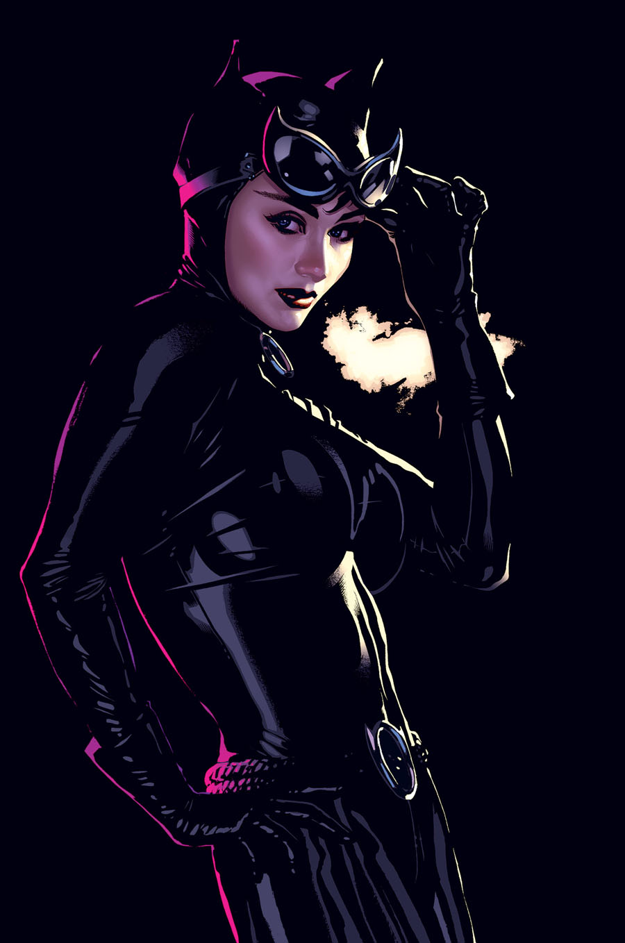 "Cover art for ""Catwoman,"" Vol. 3 #46, October 2005"