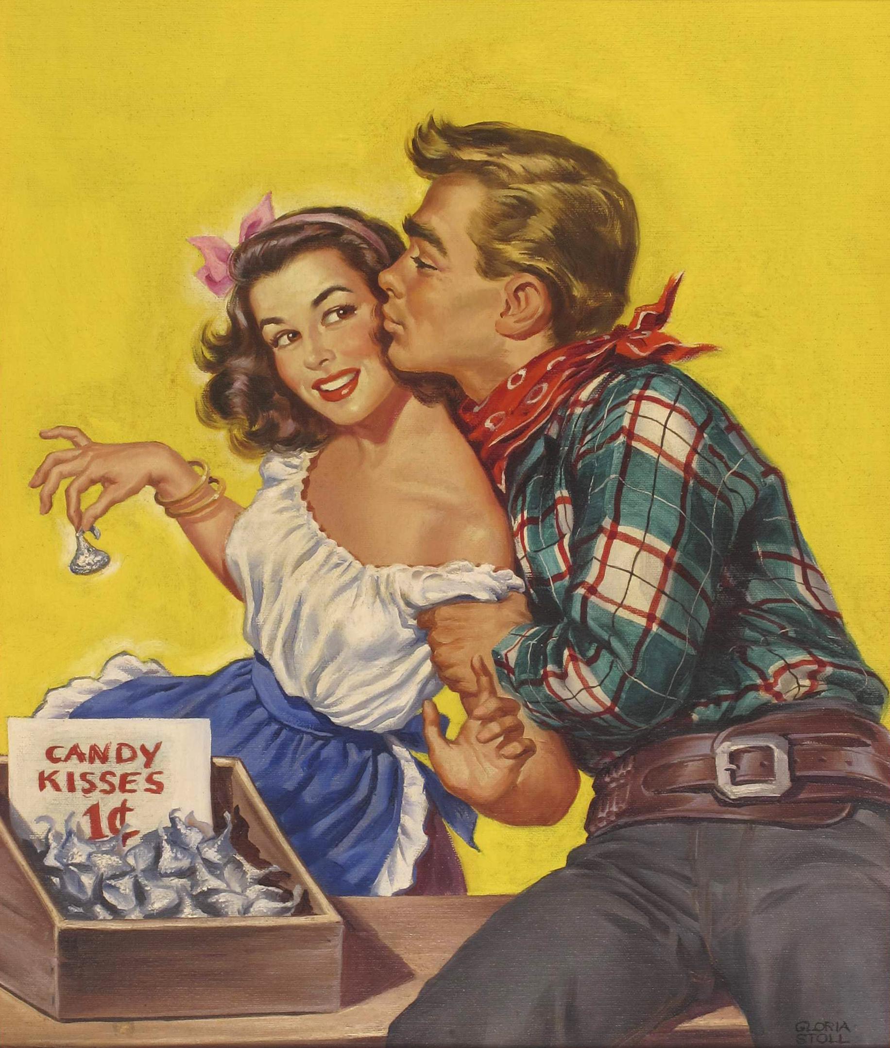 """Cover art for """"Rangeland Romances,"""" June 1949"""