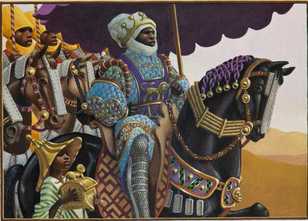 "Cover of ""Mansa Musa"""