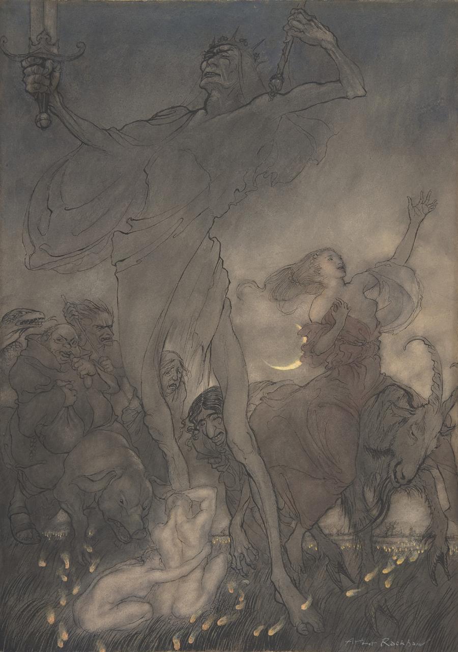"""Illustration for """"Till Eulenspiegel"""""""