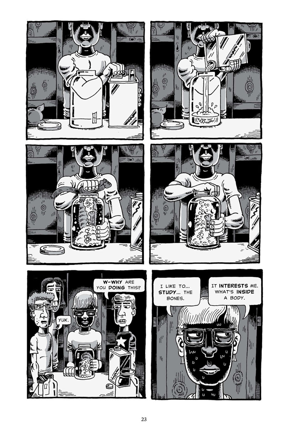 "Page from ""My Friend Dahmer,"" March 1, 2012"