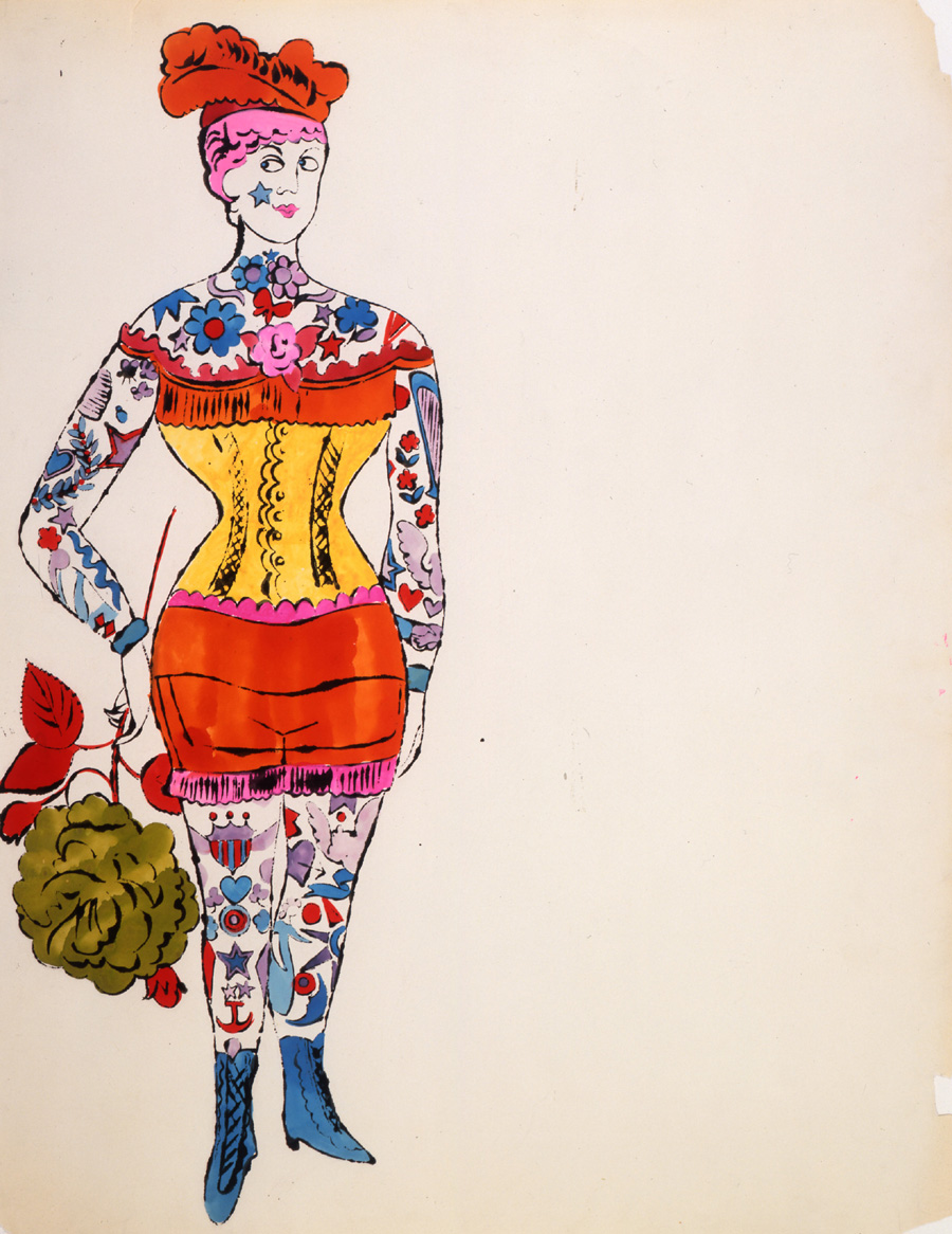 Female Costumed Full Figure