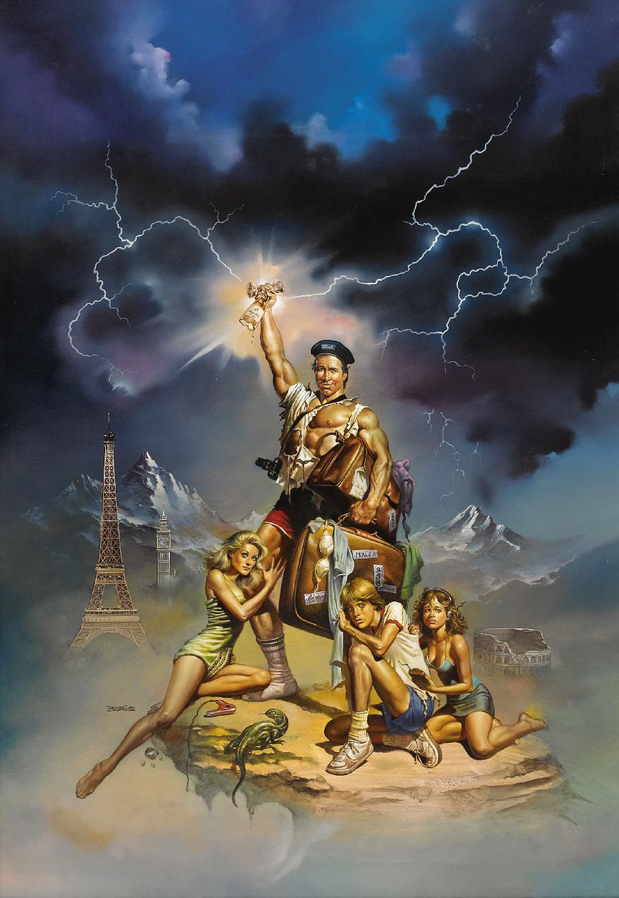"Film poster art for ""National Lampoon's European Vacation"""
