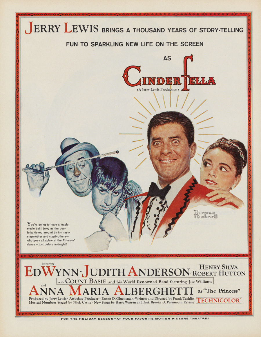 "Film poster for ""Cinderfella"""