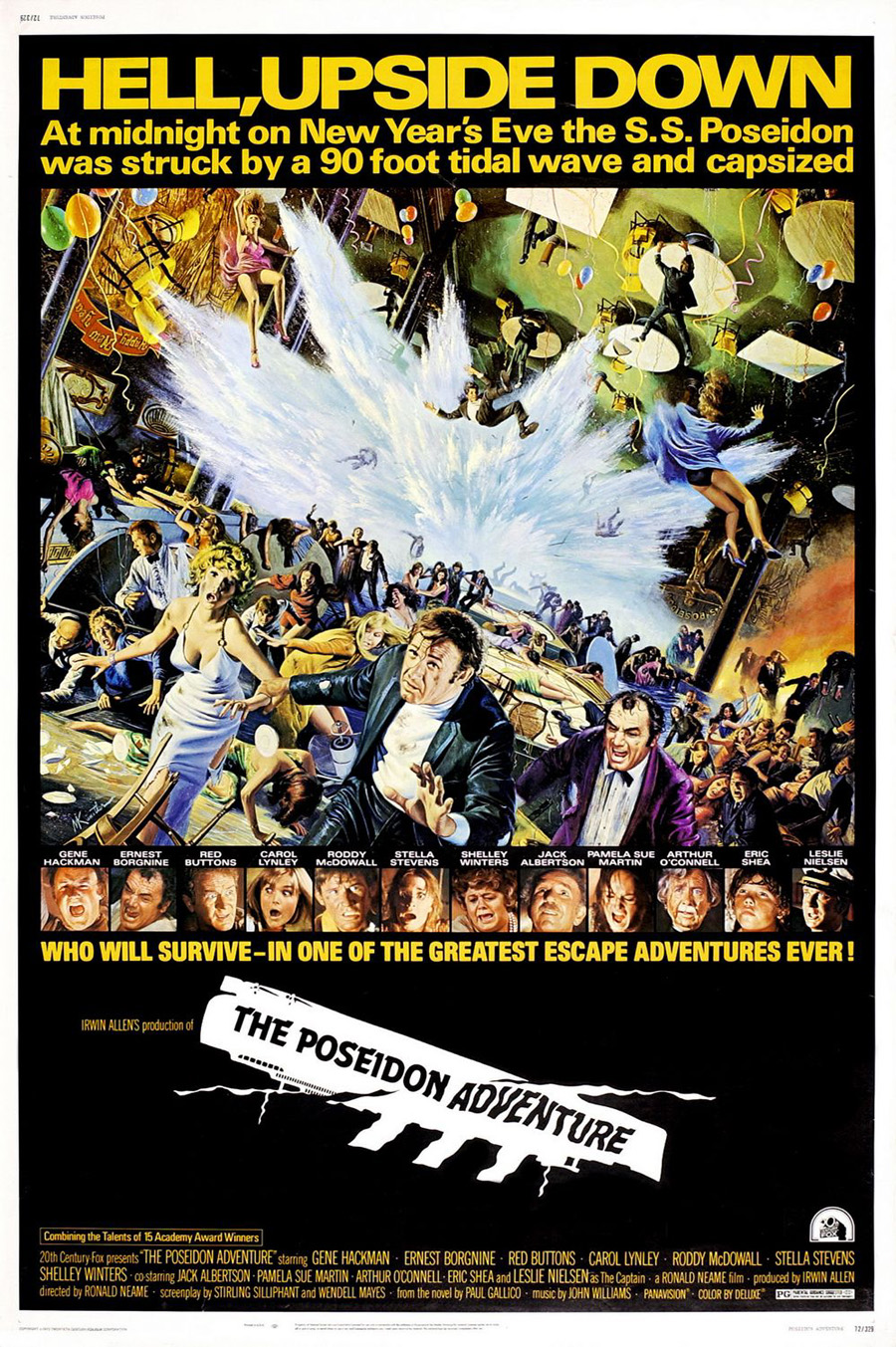 "Film poster for ""The Poseidon Adventure"""