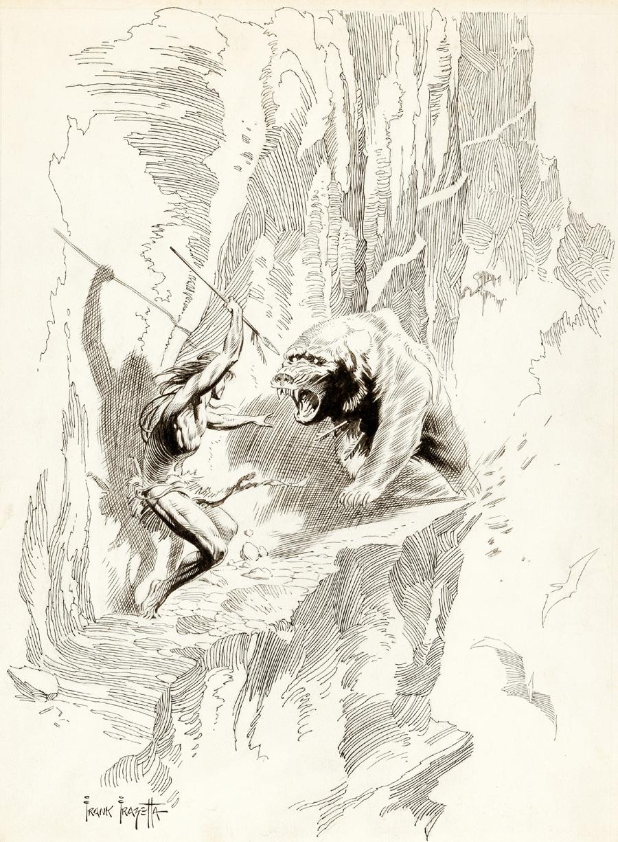 Tarzan at the Earth's Core