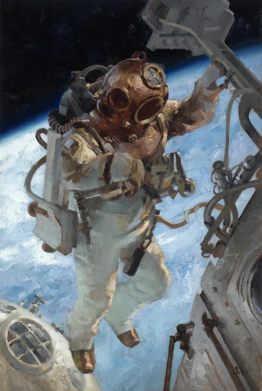 Space Station Repair, 1925