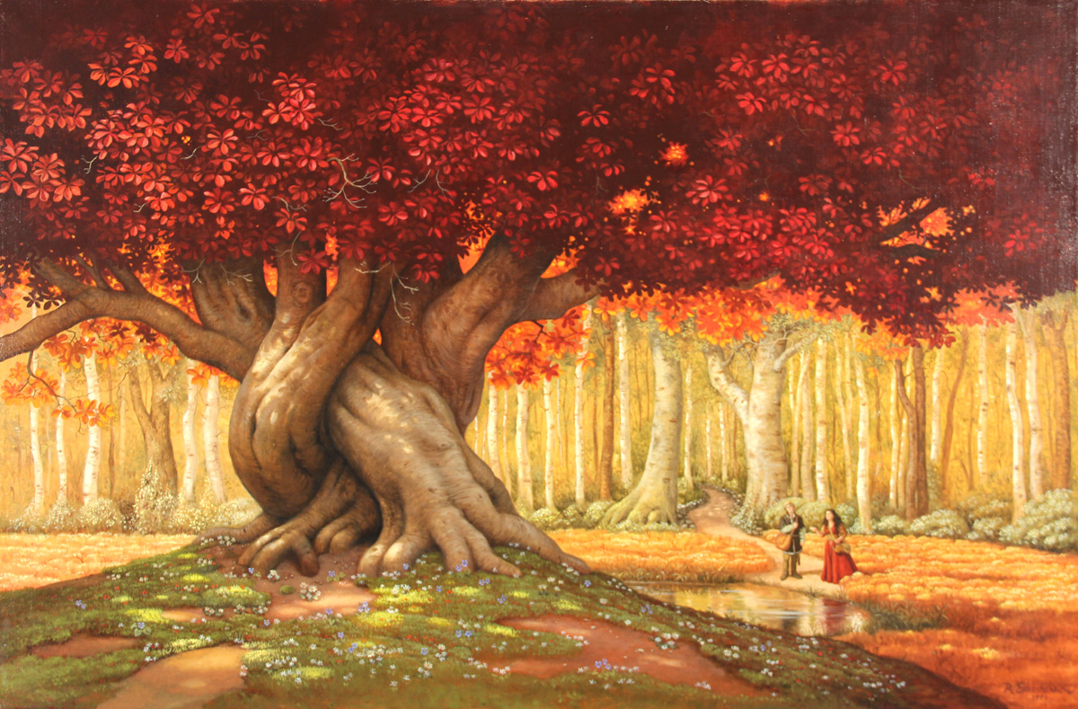 The Enchanted Wood: In the Center of the Clearing Stood a Wonderful Tree (Heart of the World)