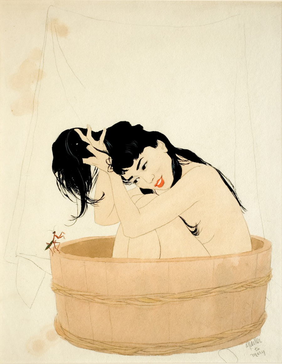 I Shall Make a Bathhouse (Woman in Tub)