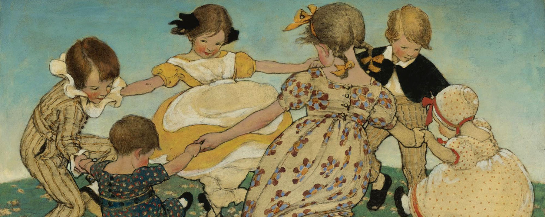Jessie Willcox Smith - Round the Ring of Roses