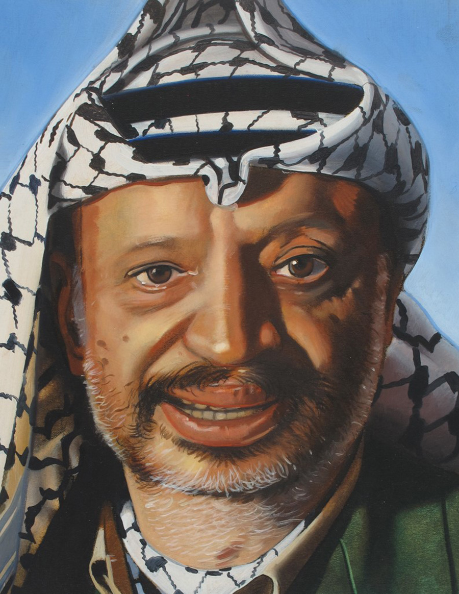 Portrait of Yasser Arafat