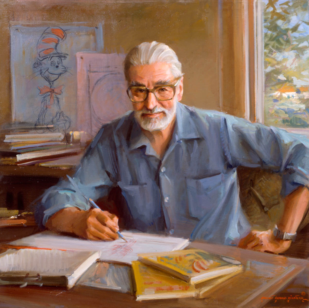 Who is dr seuss biography