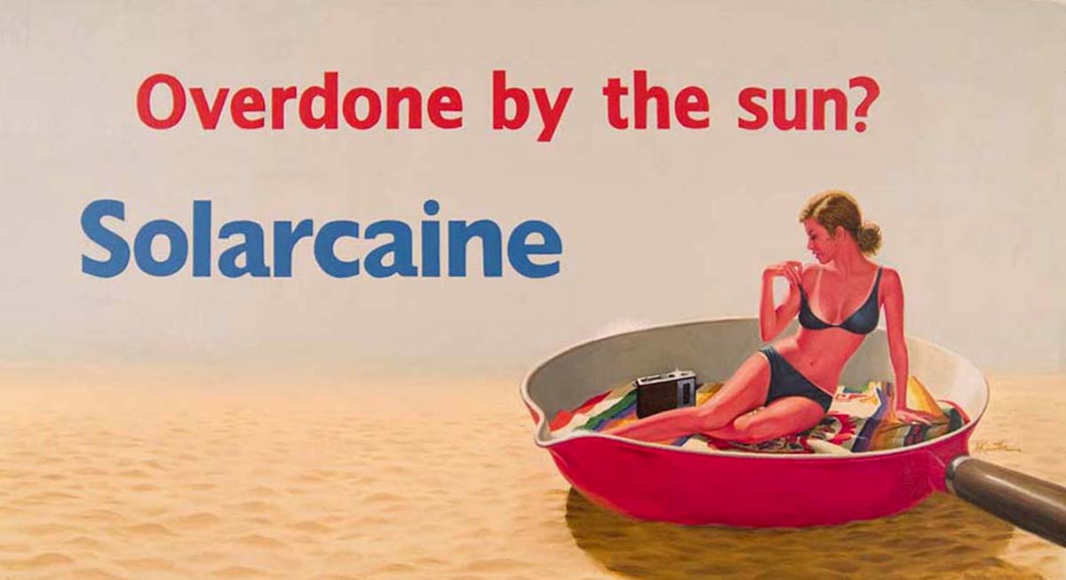 Overdone by the Sun? Solarcaine advertisement