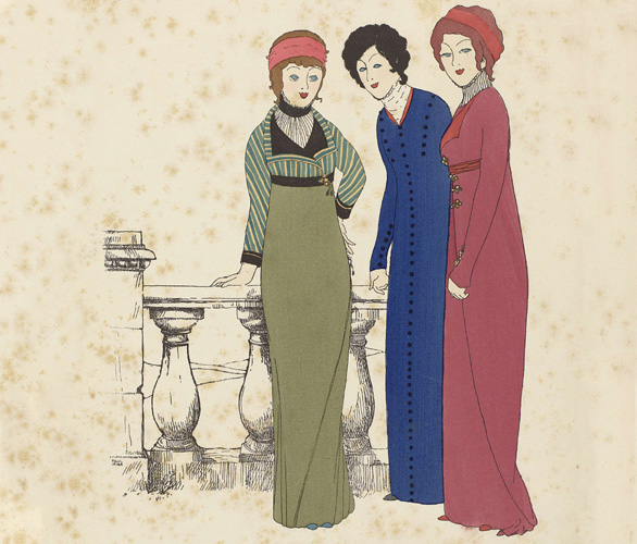 Fashion Illustration From The 16th Century To Now Illustration History