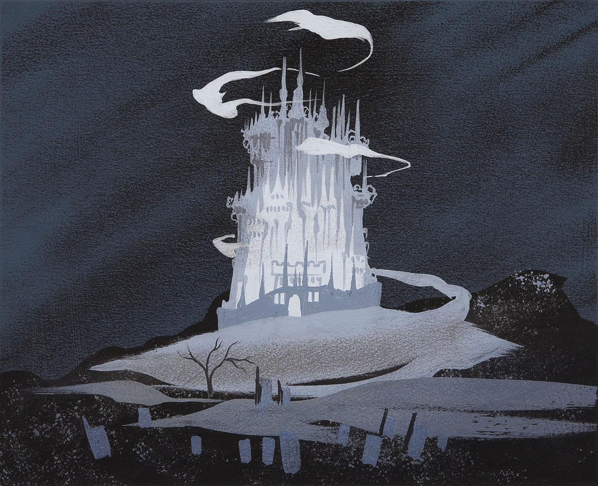 """Cinderella"" concept painting"
