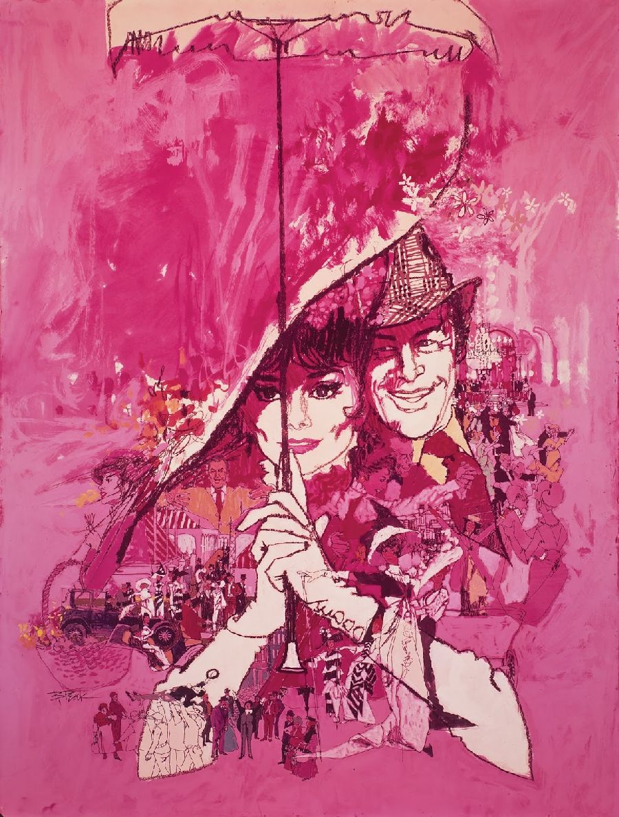 """Film poster art for """"My Fair Lady"""""""