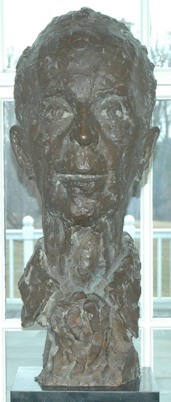 Bust of Norman Rockwell