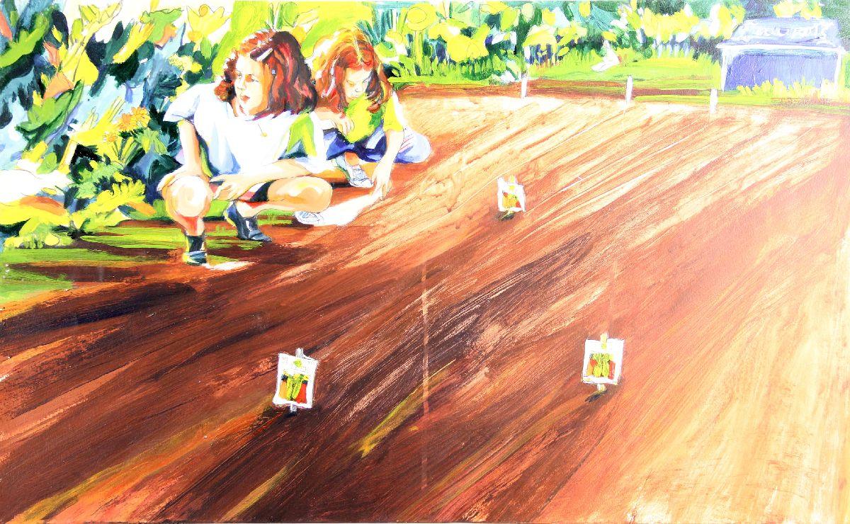 Untitled [In the Children's Garden]